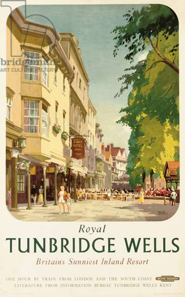 Royal Tunbridge Wells, poster advertising British Railways (colour litho)