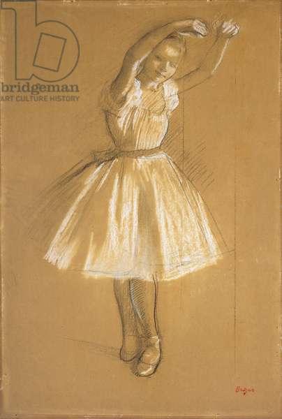 Little Dancer, 1875 (charcoal & chalk on paper)