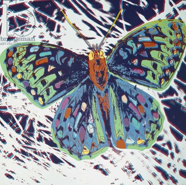 San Francisco Silverspot, from 'Endangered Species', 1983 (acrylic & enamel silkscreened on canvas)