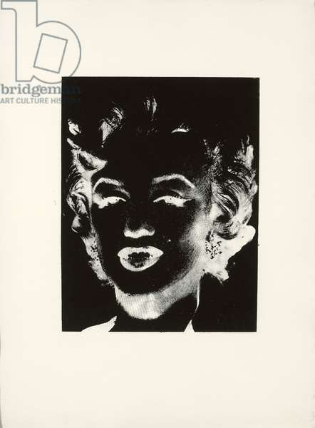 Marilyn, c.1979-1986 (silkscreen ink on paper)