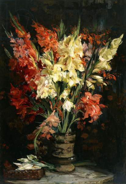 Gladioli, 1924 (oil on canvas)