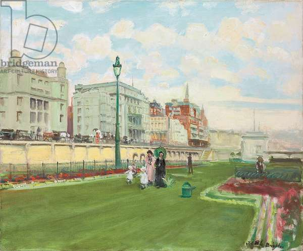 Brighton, 1929 (oil on canvas)