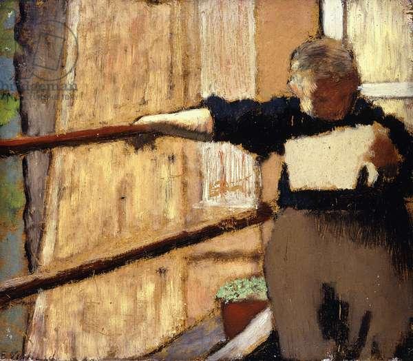 Woman Reading (The Letter); Femme Lisant (La Lettre), c.1893 (oil on board)