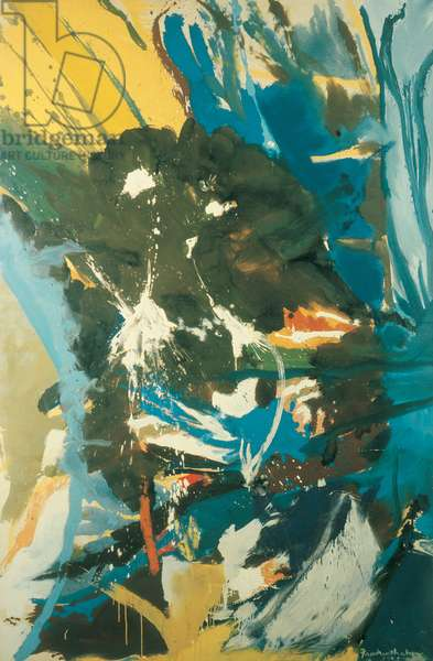Mountain Storm, 1955 (oil on canvas)