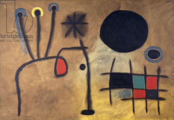 Composition, 1953 (oil on canvas)