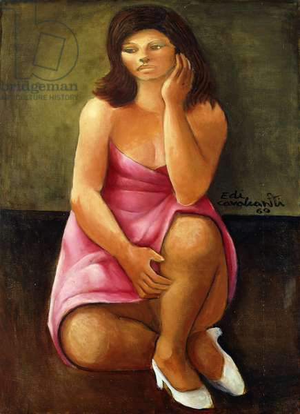 Mulata, 1969 (oil on canvas)