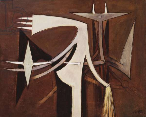Untitled, 1954 (oil on canvas)