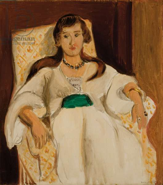 Woman in an Armchair; Femme au fauteuil, 1919 (oil on canvas)