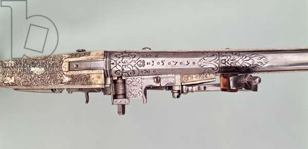 Cased pair of flintlock presentation pistols with silver mounts, traditionally given by Napoleon I to his brother Joseph Bonaparte on his being given the crown of Spain, probably in 1808. Made by Nicholas Noel Boutet, Versailles