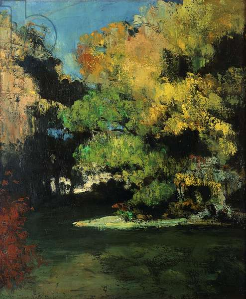 The Glade, c.1867 (oil on canvas)