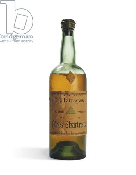 Chartreuse Jaune (glass bottle with label)