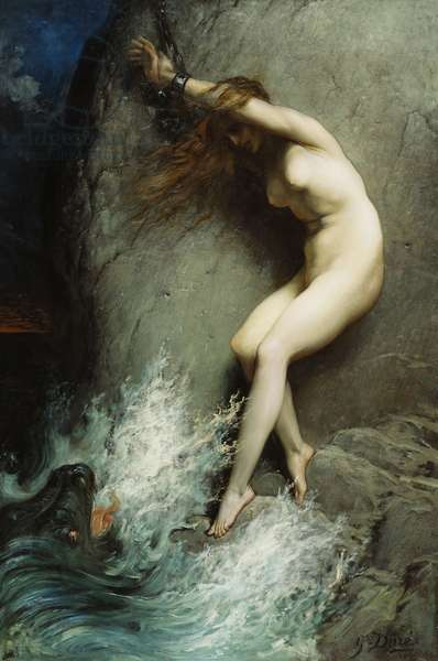 Andromeda, 1869 (oil on canvas)