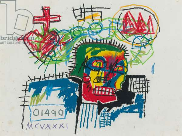 Untitled, 1981 (wax crayon on paper)