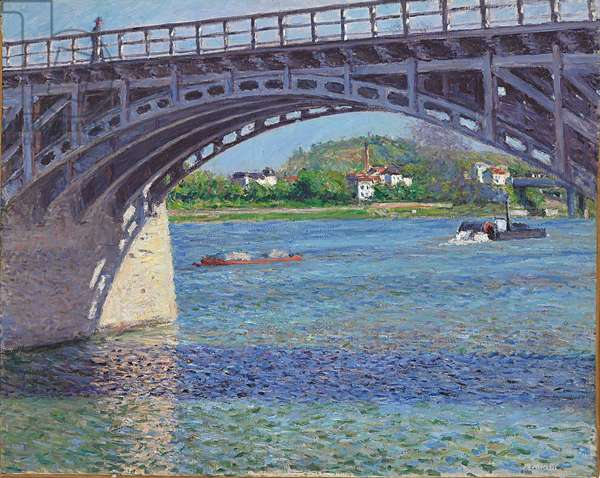 The Bridge at Argenteuil and the Seine, c.1883 (oil on canvas)