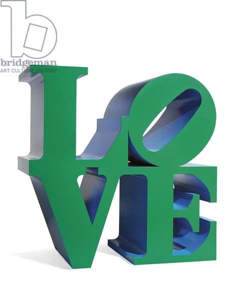 Love, 1966 ; 2000 (polychrome aluminium)