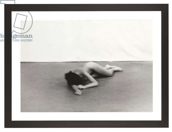 Freeing the Body, from 'The Complete Performances 1973-1975', performed 1975, published 1994 (b/w photo)