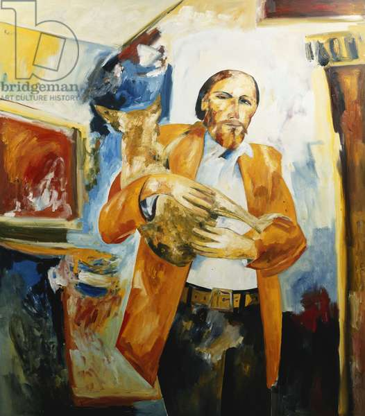 Antipodean Self-Portrait, 1985 (oil on canvas)