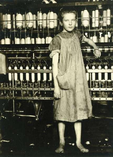 Spinner (Addie Laird), 1910 (gelatin silver print)