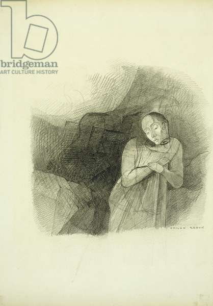 Apparition, 1870-75 (pencil on paper)
