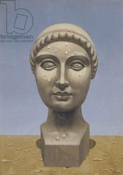 Perspiring Venus, 1939 (tempera on panel)