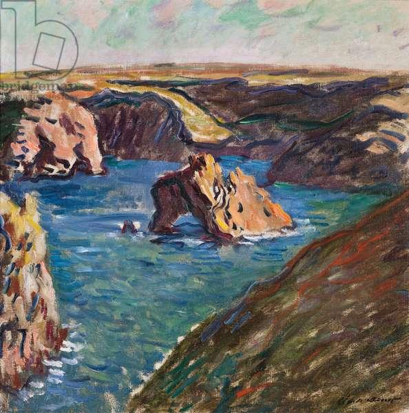 Belle-Ile, 1886 (oil on canvas)