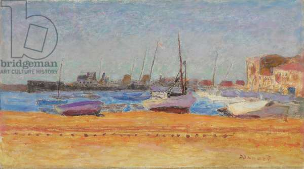 The Port of Cannes; Le port de Cannes, c.1924 (oil on canvas)