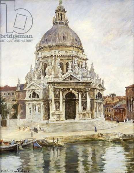 Santa Maria della Salute (oil on canvas)