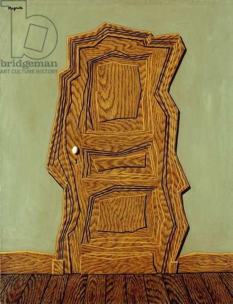 The Model Life; Le Modele Vivant, 1953 (oil on canvas)