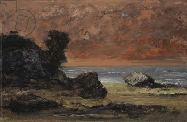After the Storm, 1872 (oil on panel)