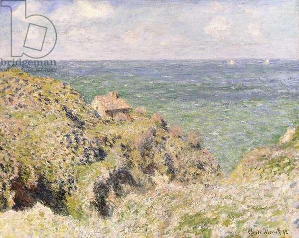 Varengeville Gorge, 1882 (oil on canvas)