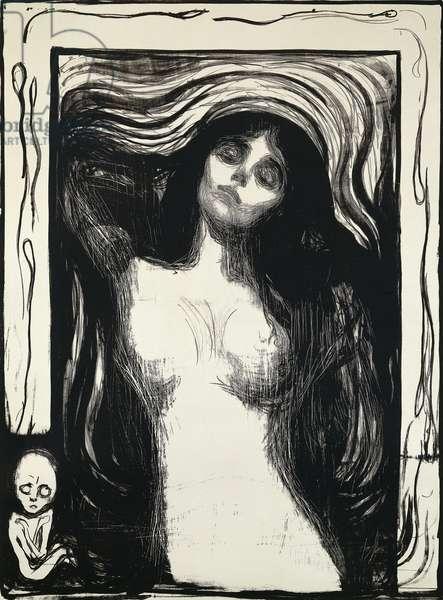 Madonna, (lithograph)