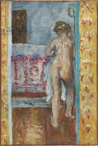 Woman in an Alcove, c. 1904 (oil on board)