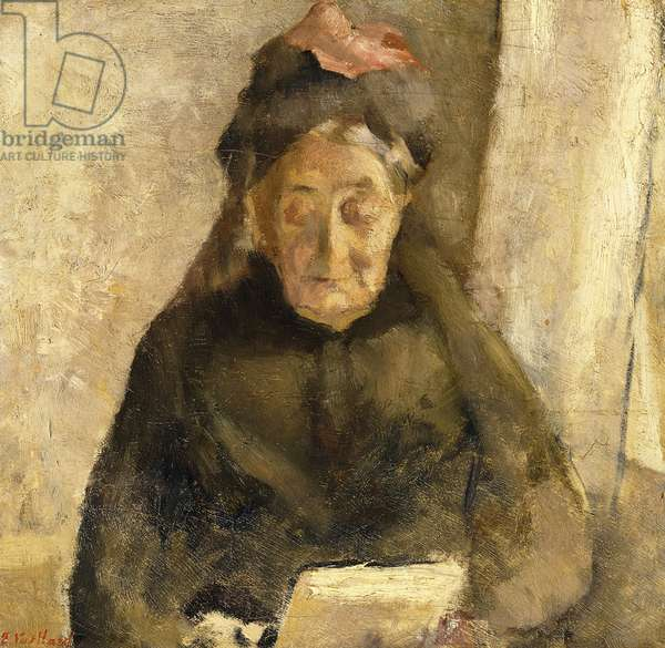 Portrait of my grandmother, Michaud-bonne maman, 1888 (oil on canvas)