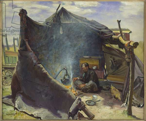 One Man's Home, 1944 (oil on canvas)