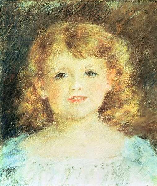 Portrait of a little girl, 1898