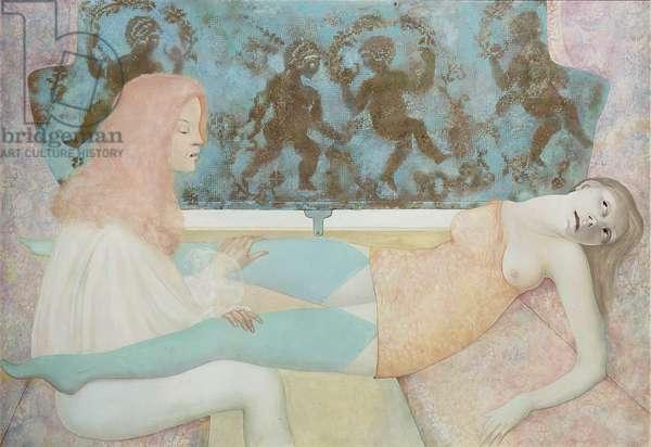 Le Long du Chemin, 1967 (oil on canvas)
