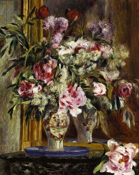 Vase of Flowers, 1871 (oil on canvas)
