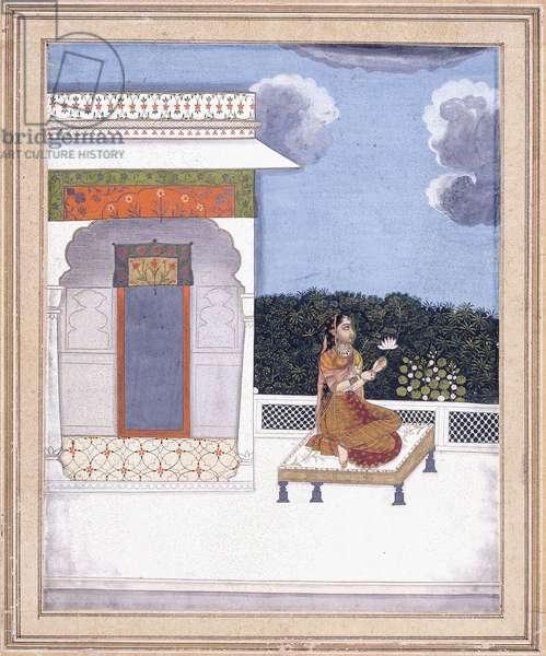 Malasri Ragini, c. 1760-70 (gouache with gold paint on paper)