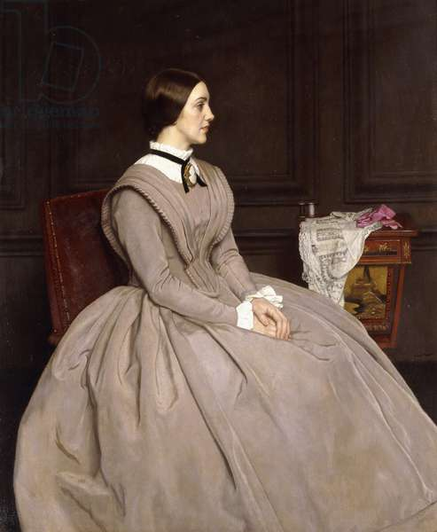 Miss Curigwen Lewis as Jane Eyre, 1936 (oil on canvas)