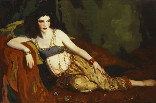 Dancer of Delhi (Betalo Rubino), 1916 (oil on canvas)