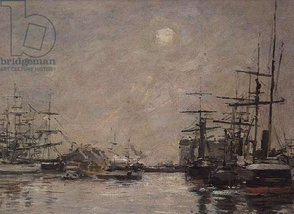 The Basin of the Barre, Le Havre