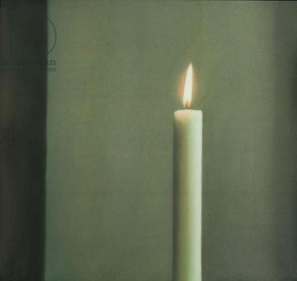 Kerze I, 1988 (colour offset print)