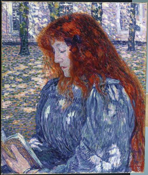 Woman Reading, 1899 (oil on canvas)