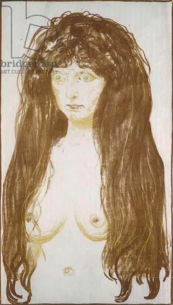 Female Nude, Sin; Weibliche Aktfigur, Die Sunde, ()