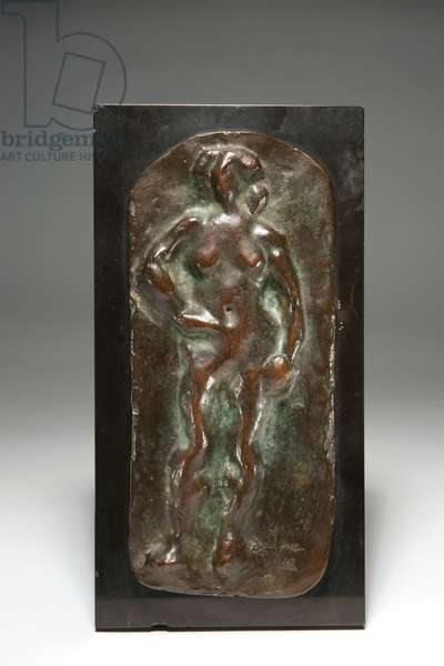 Standing Nude, conceived 1908, cast 1952 (bronze with brown patina)