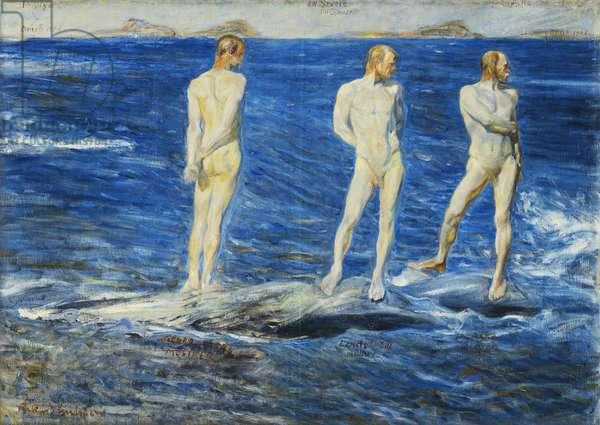 Salt, Wind and Sea, 1906, 1909 (oil on canvas)
