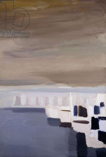 Port d'Antibes, 1954 (oil on canvas)
