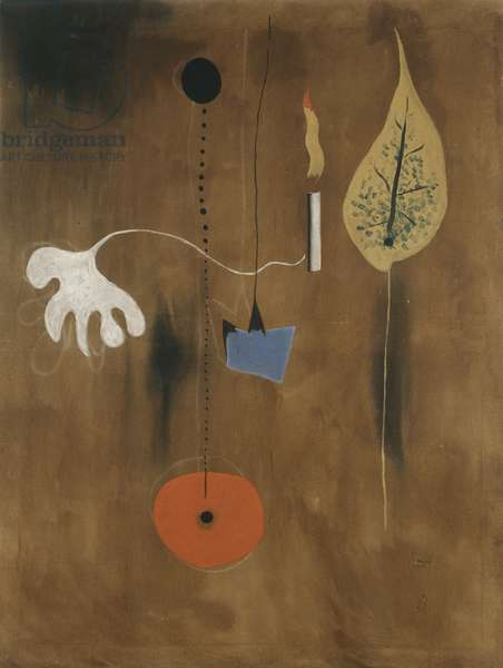 Figure and Candle, 1925 (oil on canvas)
