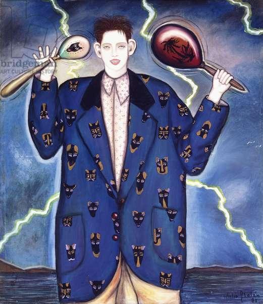 Mad Boy; Nino Loco, 1985 (oil on canvas)