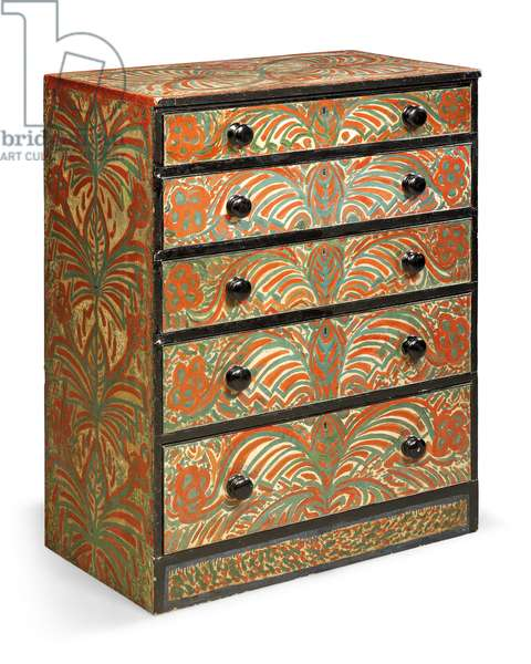 Chest of drawers, c.1919 (pine)